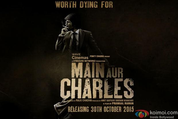 Randeep Hooda in a still from Motion poster of 'Main Aur Charles'