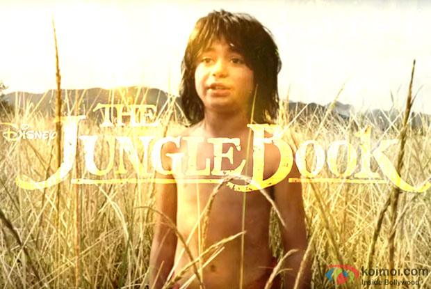 Neel Sethi as a Mowgli in a still from movie 'The Jungle Book'