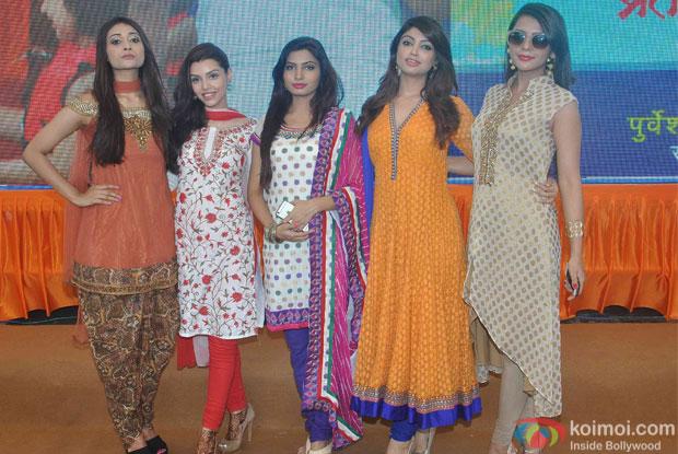 Calender Girls during the Celebrating Dahi Handi