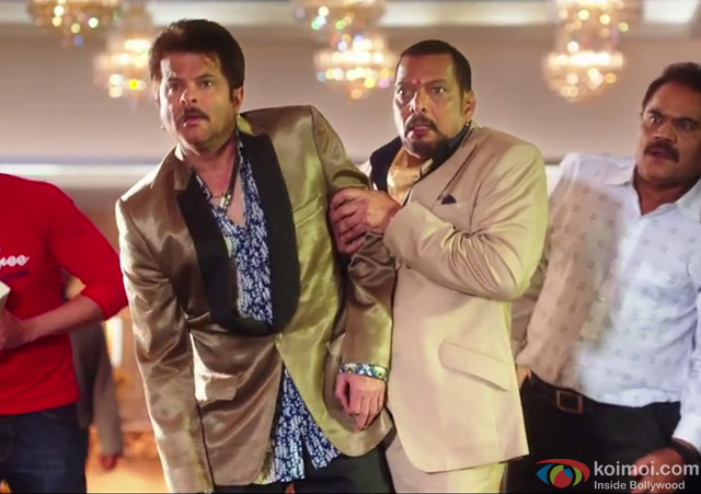 Anil Kapoor and Nana Patekar in a still from movie 'Welcome Back'