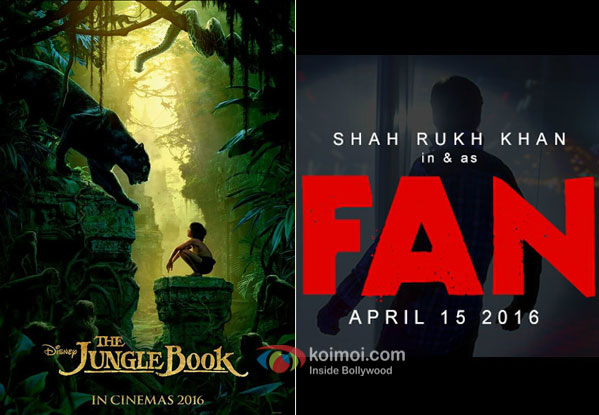 The Jungle Book and Fan movie posters