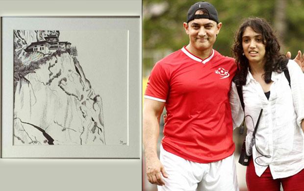Aamir Khan buys daughter Ira's painting