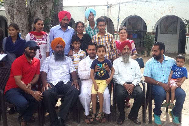 Aamir Khan has been in an extensive shoot schedule of Dangal in Punjab