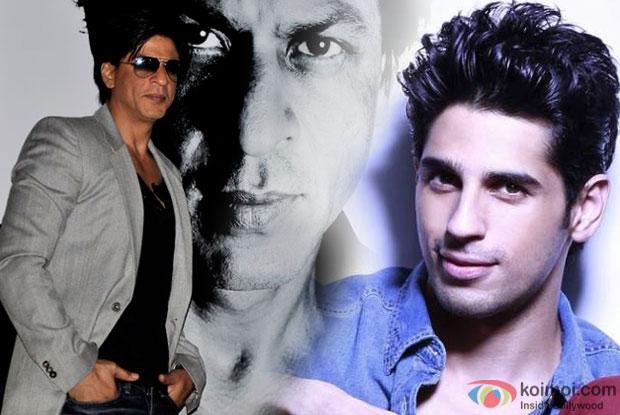 Shah Rukh Khan and Sidharth Malhotra