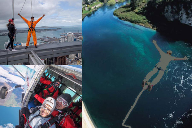 After walking on the Sky Tower and Sky Diving, Sidharth Malhotra to Bungee Jump?
