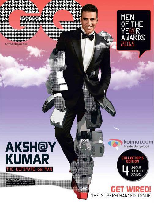 Akshay Kumar On The GQ Magazine Cover