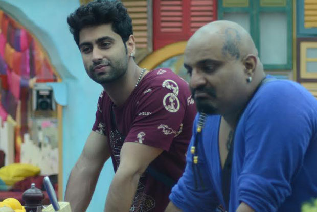 Ankit Gera on the sets of Bigg Boss