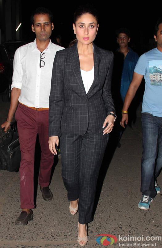 kareena Kapoor Khan spotted at mehboob studio