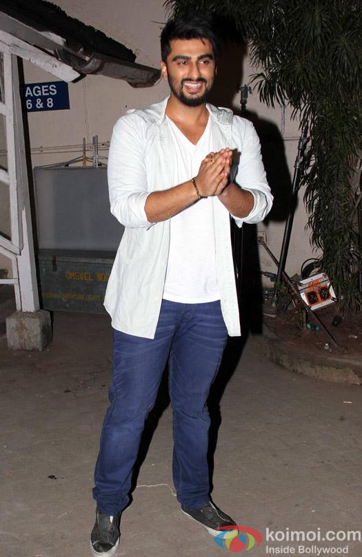 Arjun Kapoor spotted at mehboob studio