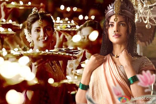 Priyanka Chopra in still of movie Bajirao Mastani