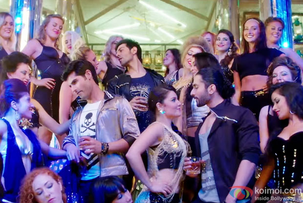 A still from 'Pyaar Ka Punchnama 2'