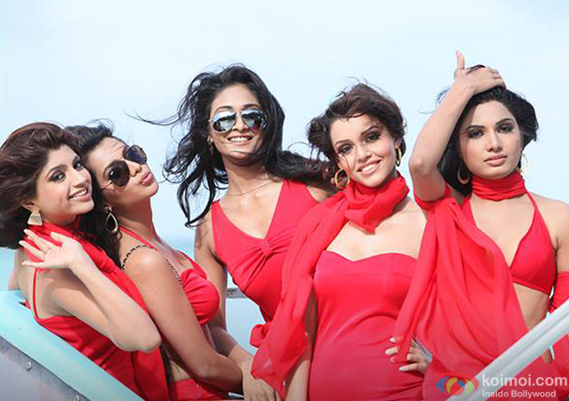 Akanksha Puri, Avani Modi, Kyra Dutt, Ruhi Singh and Satarupa Pyne in 'Calendar Girls' Movie Stills Pic 5