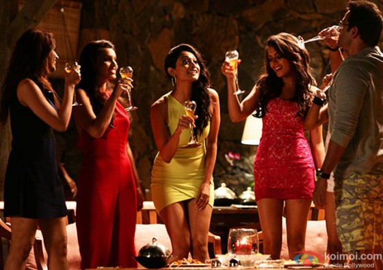 Akanksha Puri, Avani Modi, Kyra Dutt, Ruhi Singh and Satarupa Pyne in 'Calendar Girls' Movie Stills Pic 6