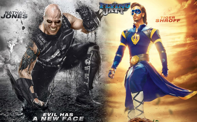 First Look Tiger Shroff As The New Superhero In A Flying Jatt