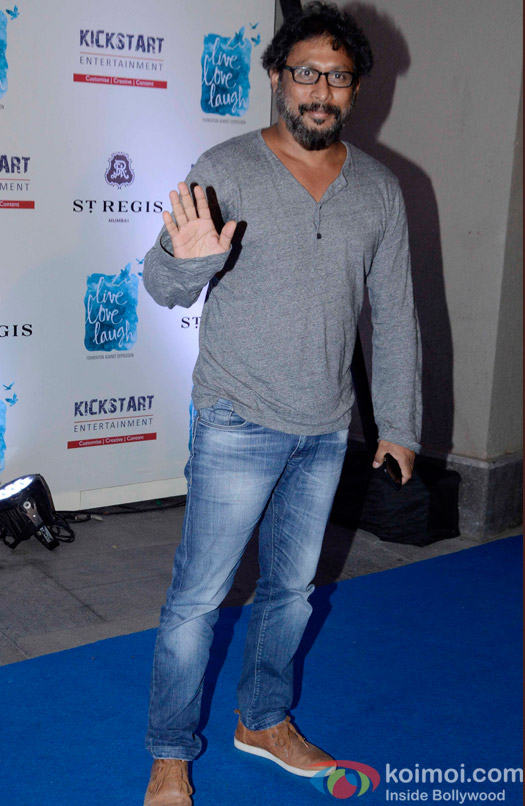 Shoojit Sircar during the launch of Deepika Padukone's NGO The Live Love Laugh Foundation