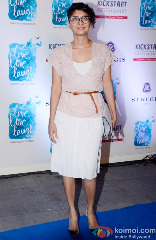 Kiran Rao during the launch of her NGO The Live Love Laugh Foundation
