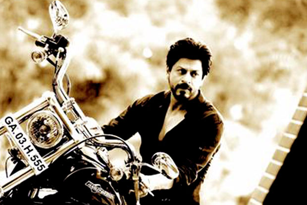 Shah Rukh Khan on the sets of 'Dilwale'