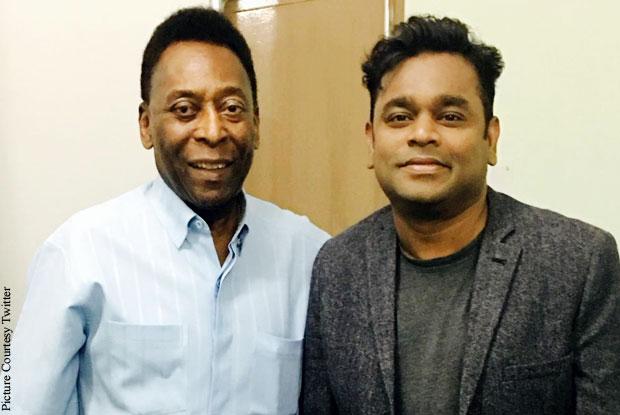 Pele and A.R. Rahman