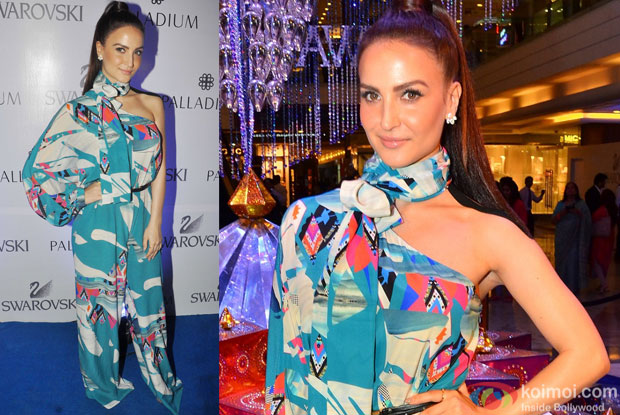 Elli Avram during the launch of a art event by Swarovski