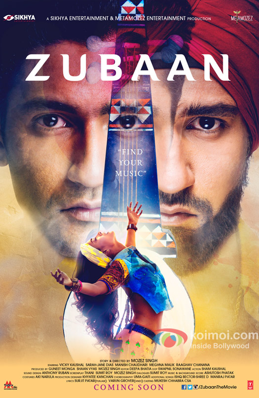 The Poster of 'Zubaan'