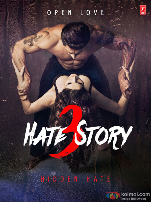 Hate Story 3 Movie Poster 1