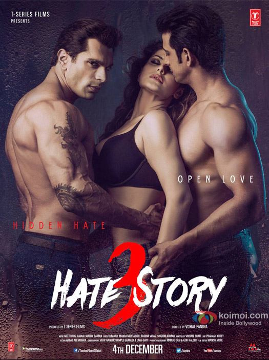 Hate Story 3 Movie Poster 4