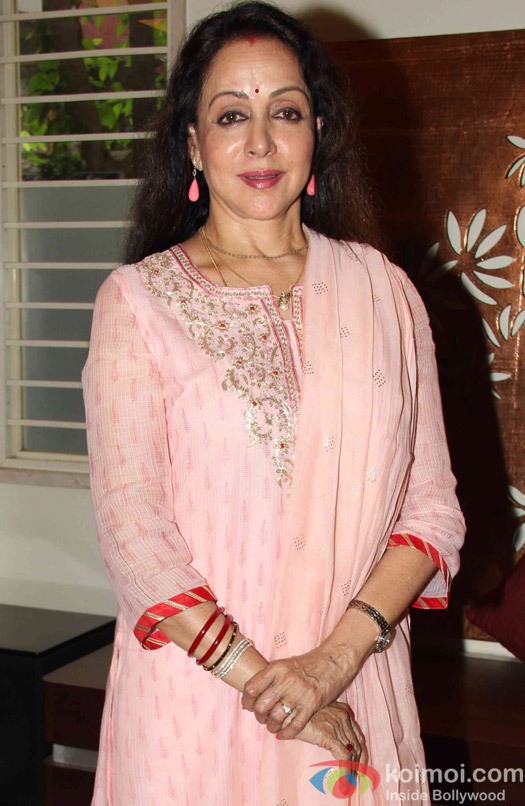 Hema Malini Celebrates Her 67th Birthday
