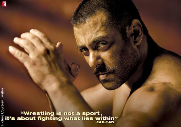 New Look Of Salman Khan For 'Sultan'