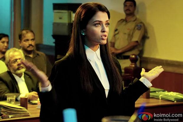 Aishwarya Rai Bachchan in still from movie Jazbaa