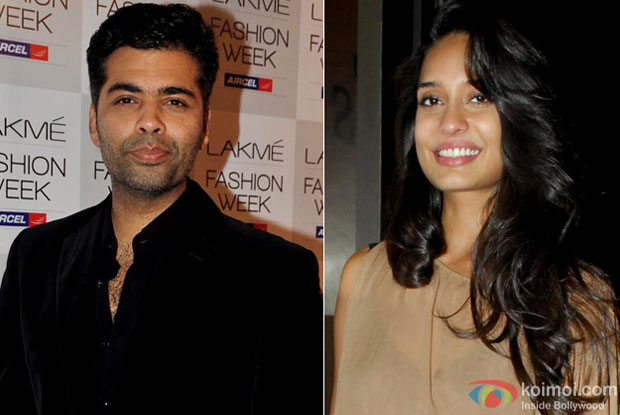 Karan Johar and Lisa Haydon