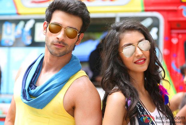Girish Kumar and Navneet Kaur Dhillon in LoveShhuda Movie Stills Pic 2