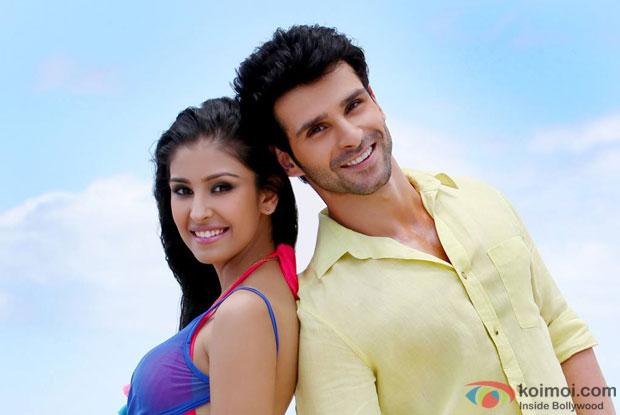 Navneet Kaur Dhillon and Girish Kumar in LoveShhuda Movie Stills Pic 2