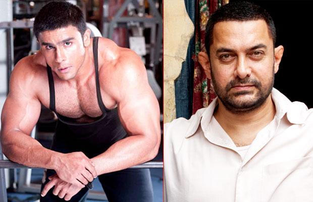 Rahul Bhatt and Aamir Khan