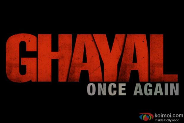 Logo of Ghayal Once Again