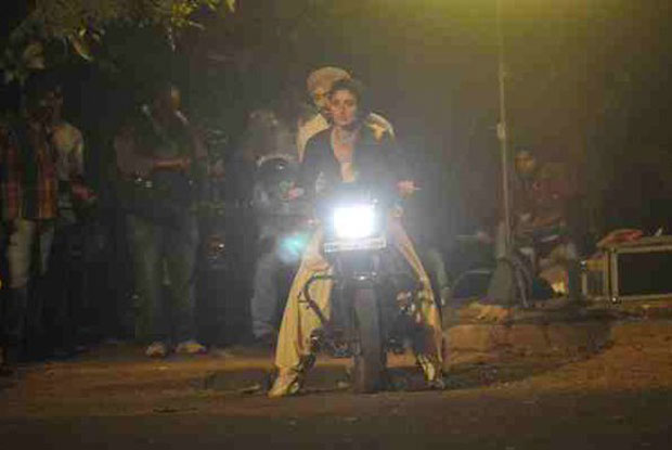 Kareena Kapoor Khan Gearing Up For A Bike Ride In Udta Punjab