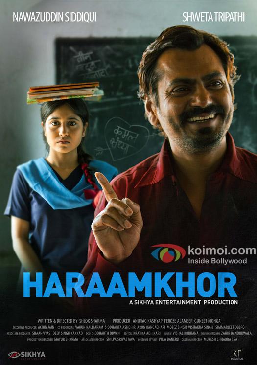 Nawazuddin Siddiqui in a 'Haramkhor' movie poster
