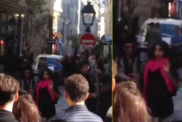 Ranbir Kapoor & Anushka Sharma, Got Clicked While Shooting The Song of Ae Dil Hai Mushkil in Paris aris