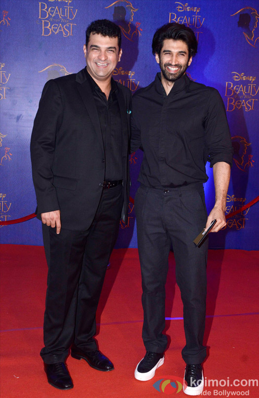Siddharth Roy Kapur and Aditya Roy Kapur at the premier of Disney India's stage musical 'Beauty and the Beast'