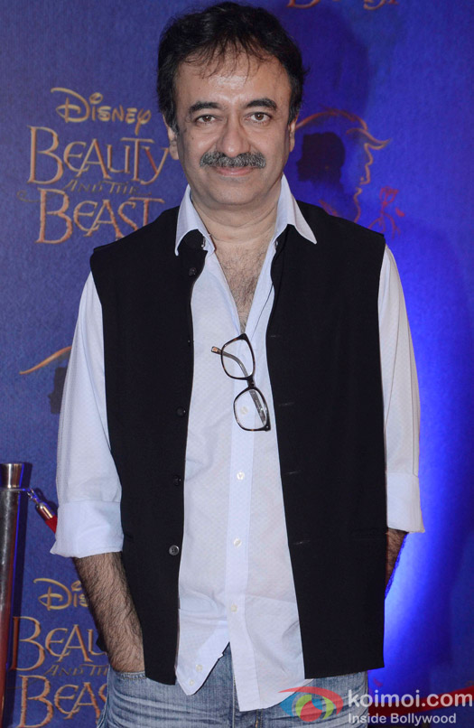 Rajkumar Hirani at the premier of Disney India's stage musical 'Beauty and the Beast'
