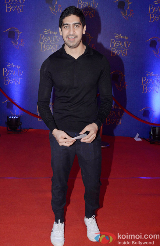 Ayan Mukerji at the premier of Disney India's stage musical 'Beauty and the Beast'