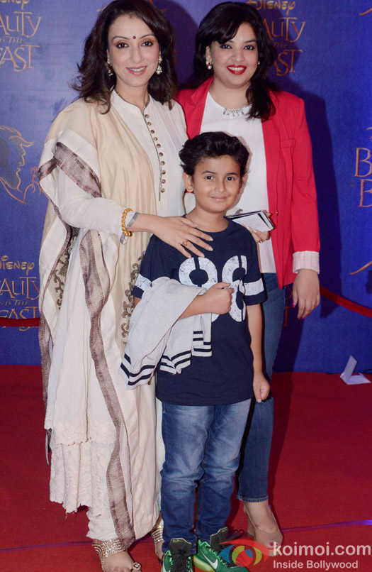 Madhurima Nigam and Nevaan Nigam at the premier of Disney India's stage musical 'Beauty and the Beast'