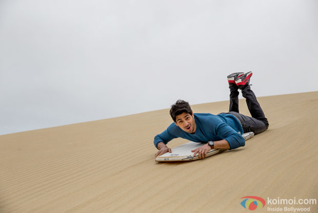 Sand surfing grips Sidharth Malhotra in New Zealand