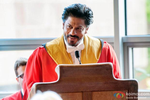 Shah Rukh Khan –Speech at Edinburgh University