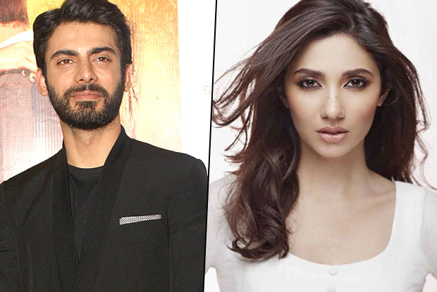 Fawad Khan and Mahira Khan