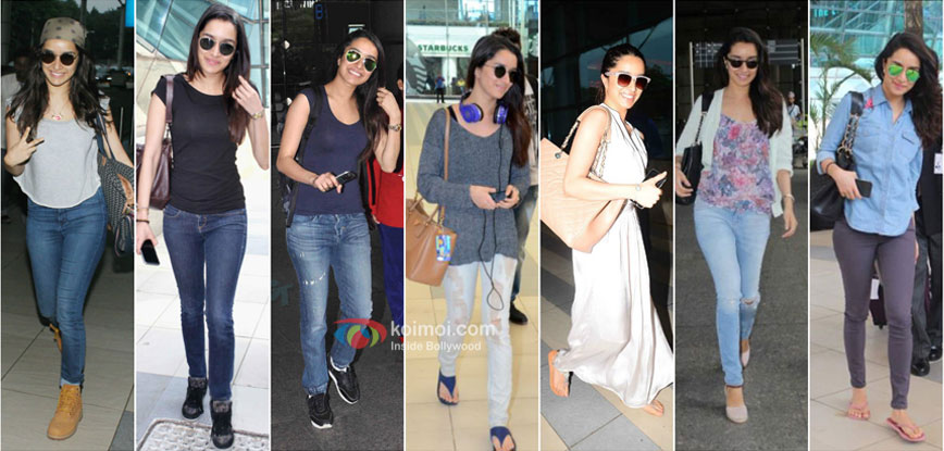Shraddha Kapoor Rocks the Airport Look
