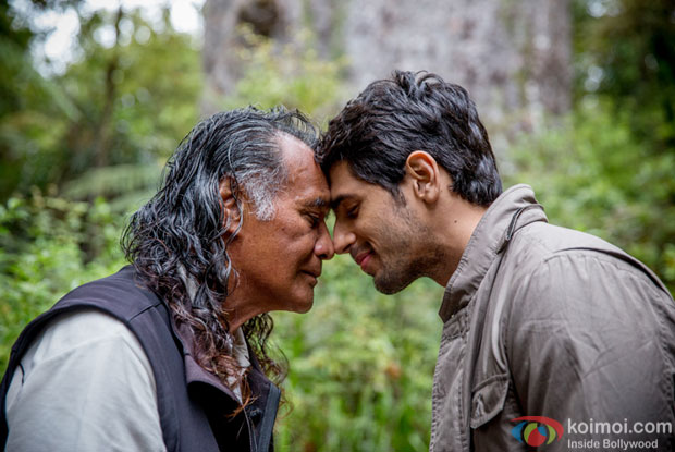 Sidharth Malhotra takes blessings of New Zealand's ''Lord of the Forest'