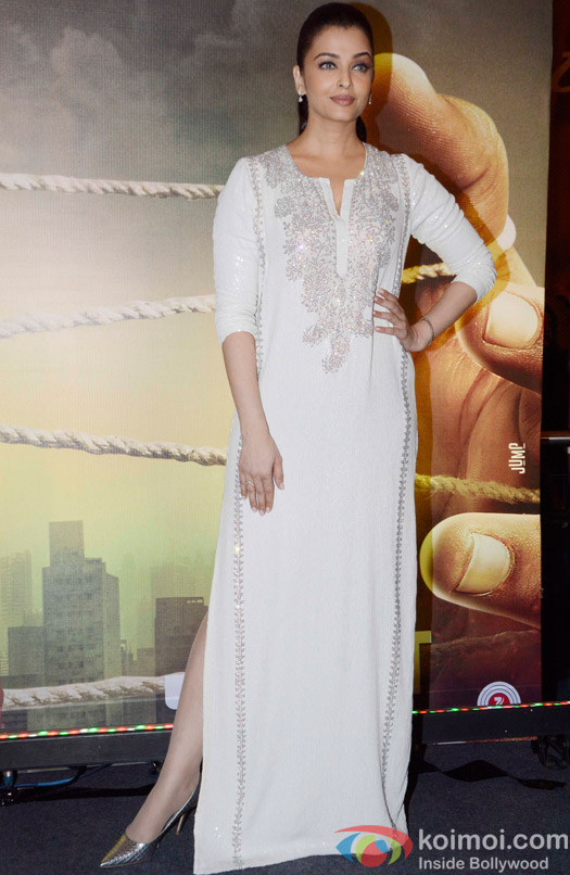 Aishwarya Rai bachchan during the Special Screening of movie Jazbaa