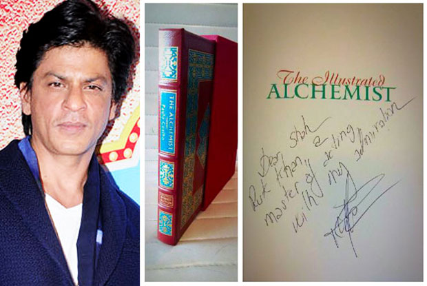 Shah Rukh Khan receives autographed copy of 'The Alchemist' from Coelho
