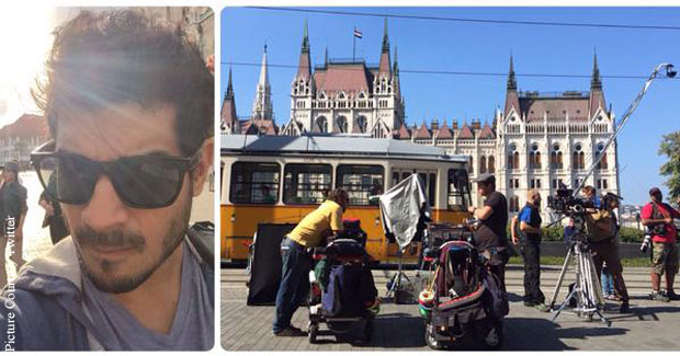 Tahir Bhasin Clicked On The Sets Of 'Force 2'