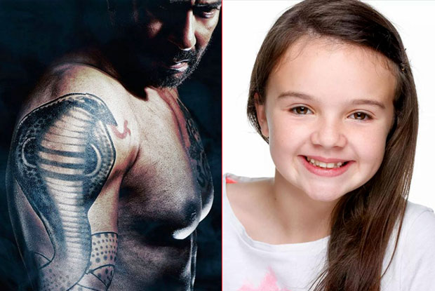 The Hollywood child artiste Abigail Eames To Play Ajay Devgn's Daughter In 'Shivaay'